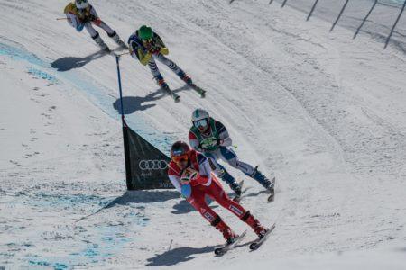 Tobias Baur fährt eine starke Saison im Skicross- Weltcup